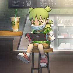 Yotsuba and Starbucks