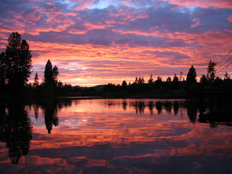 Sunset at SunRiver 2