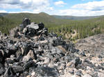 Big Obsidian Flow - Newberry Crater
