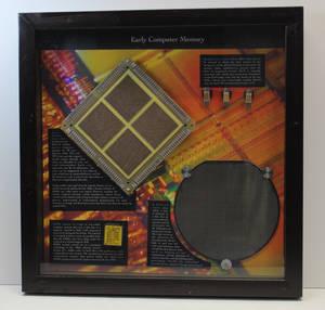 Early Computer Memory - wall hanger