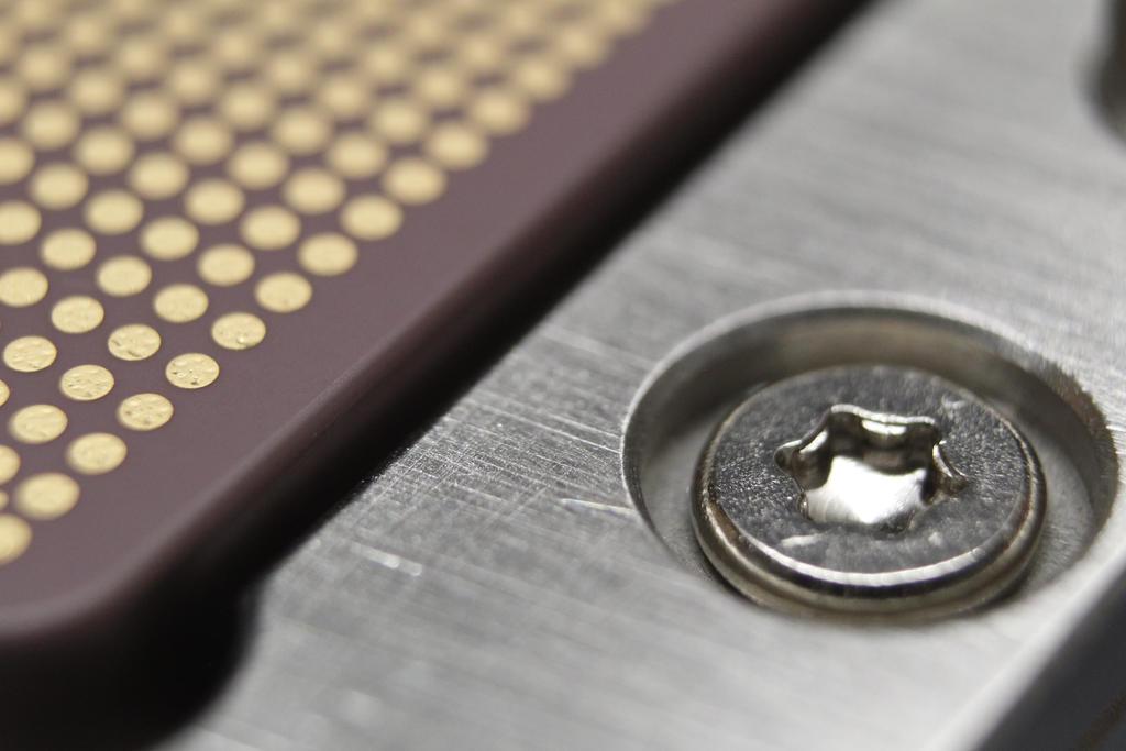 IBM Power 7 closeup
