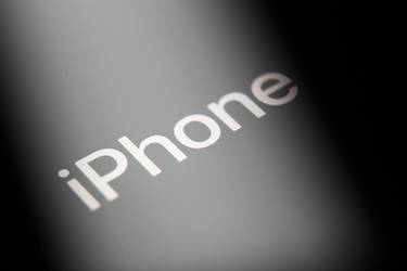 iPhone logo from an iPhone X by Sonic840