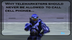 halo and telemarketers are dea