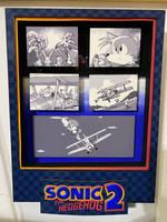 Sonic 2 Ending Cut scene shadow box