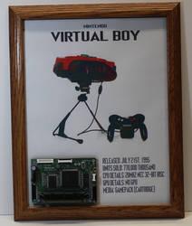 Nintendo Virtual Boy board frame