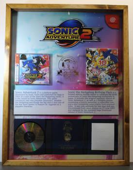 Sonic Adventure 2 Birthday Edition Frame