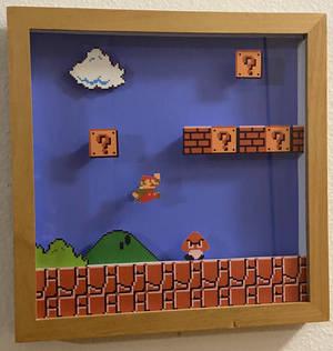 Mario 1-1 Shadowbox