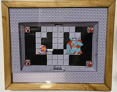 Link Vs Ganon - Legend of Zelda Shadowbox