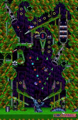 Sonic Spinball - Digital version
