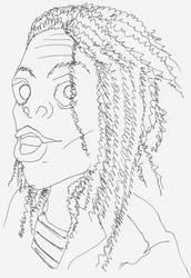 Bob Marley... Not by mazzie