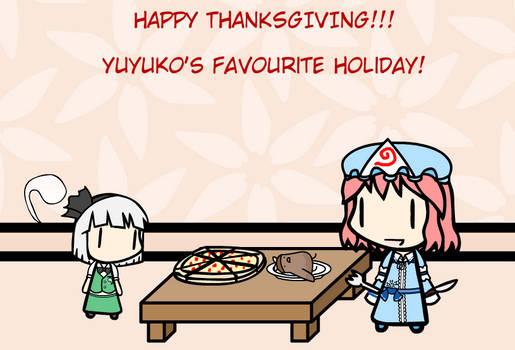 Yuyuko's Favourite Holiday