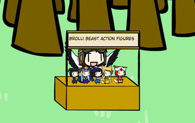 Brolli Beast Action Figures! by WarFalcon