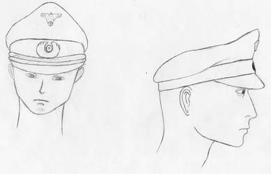 Officer cap of 'Schirmmutze'