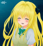 To Love Ru  - Yami is smiling!