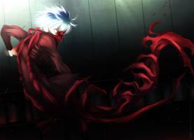 Kaneki Ken - Centipede! - Tokyo Ghoul 100 by KuroNick-Arts