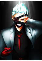 Kaneki Ken - Tokyo Ghoul Re 105 - White Suit by KuroNick-Arts