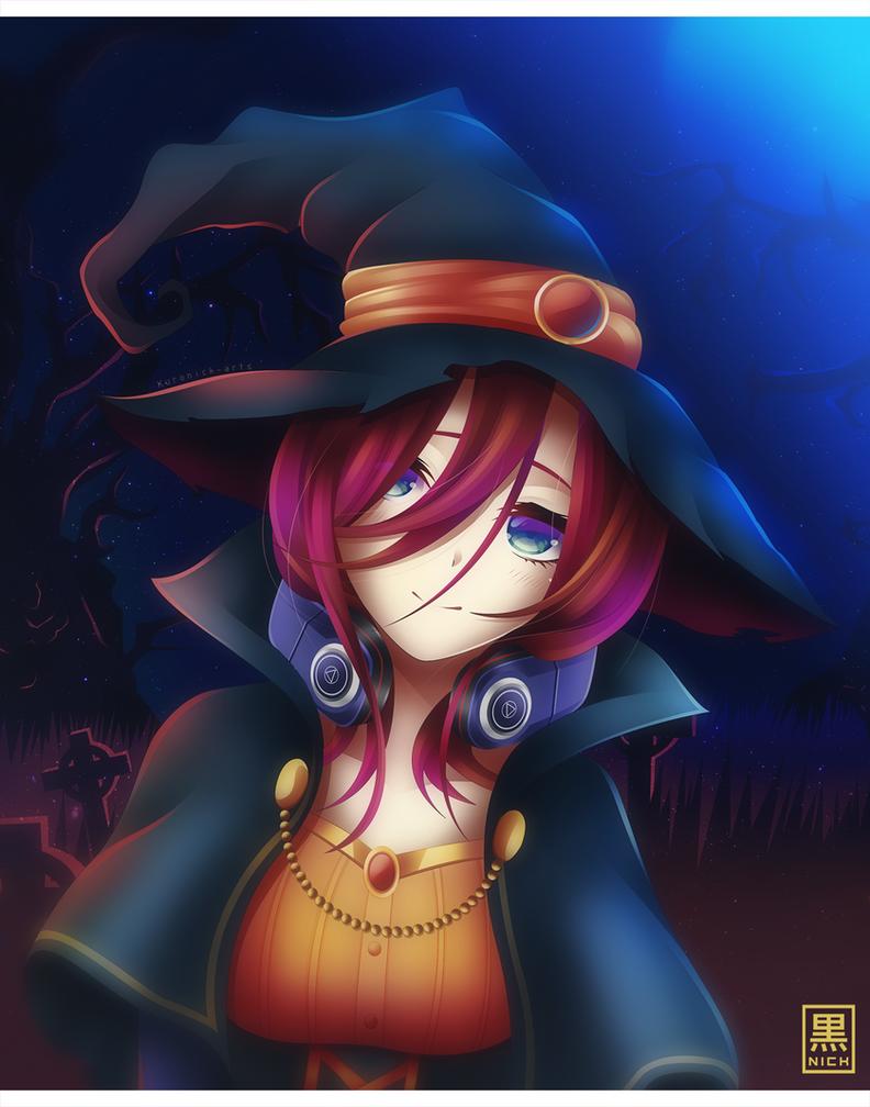 Nakano Miku - Happy Halloween by KuroNick-Arts