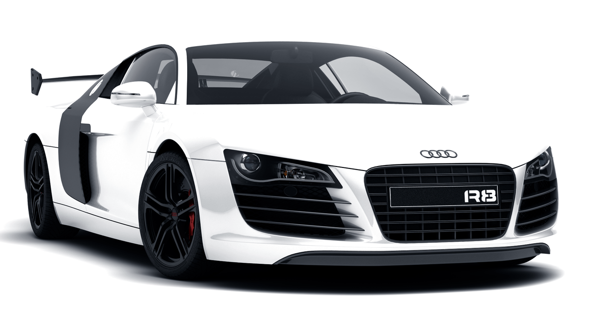 Audi R8 White By Drcodec On Deviantart