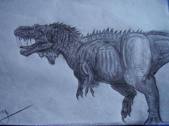 Appalachiosaurus by Teratophoneus