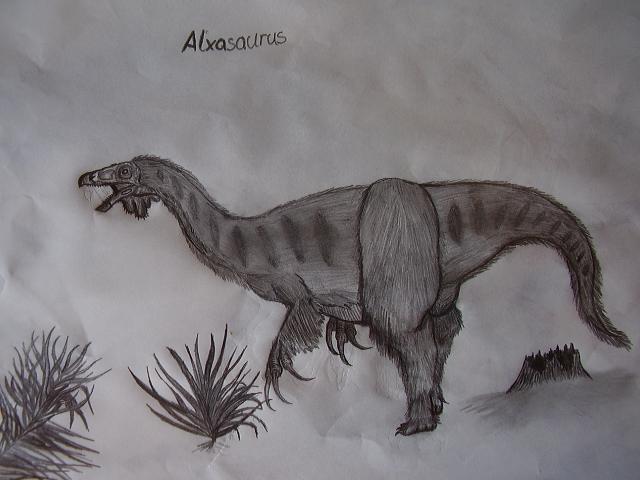 Alxasaurus by Teratophoneus