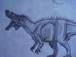 Baryonyx by Teratophoneus