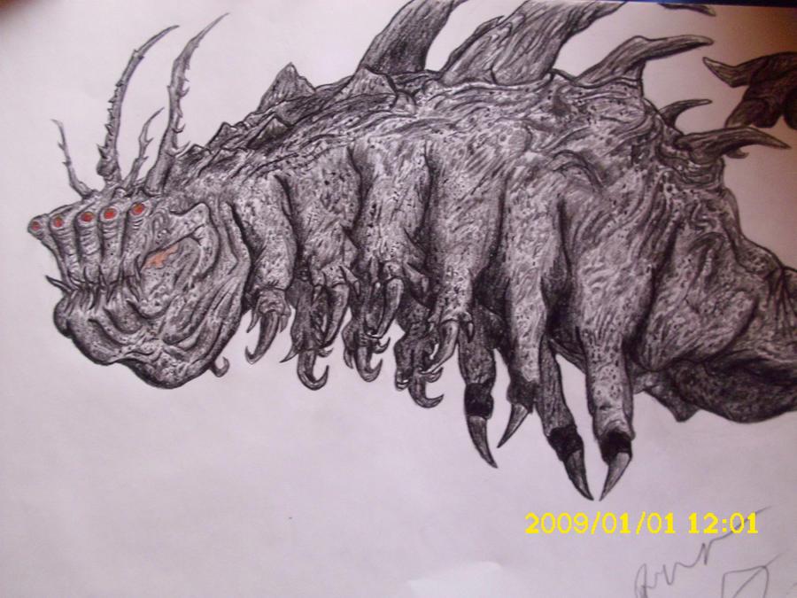 El gusano gigante by Teratophoneus