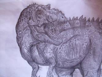 Tyrannosaurus rex by Teratophoneus