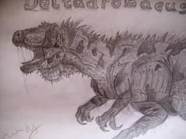 Deltadromeus by Teratophoneus