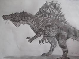 Spinosaurus by Teratophoneus