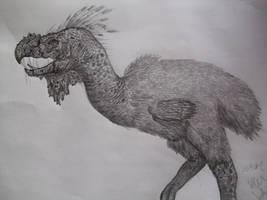 Titanis walleri by Teratophoneus
