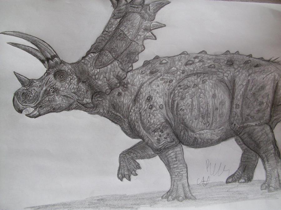 Titanoceratops by Teratophoneus
