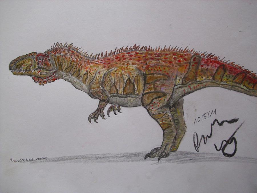 Mapusaurus roseae by Teratophoneus