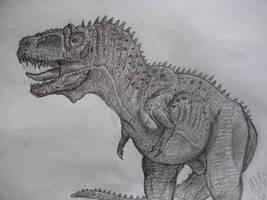 Daspletosaurus by Teratophoneus