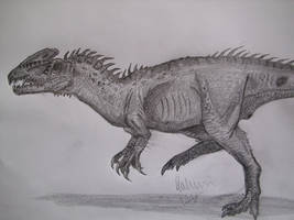Zupaysaurus longer legs by Teratophoneus