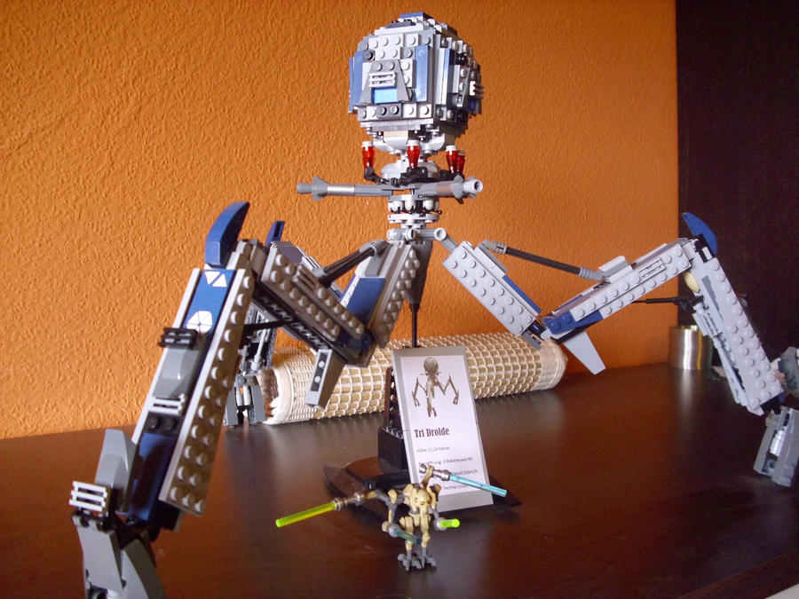 Lego star wars tri droid by teratophoneus on deviantart - Lego star wars base droide ...