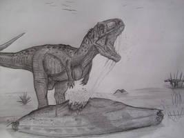 Indosuchus raptorius by Teratophoneus