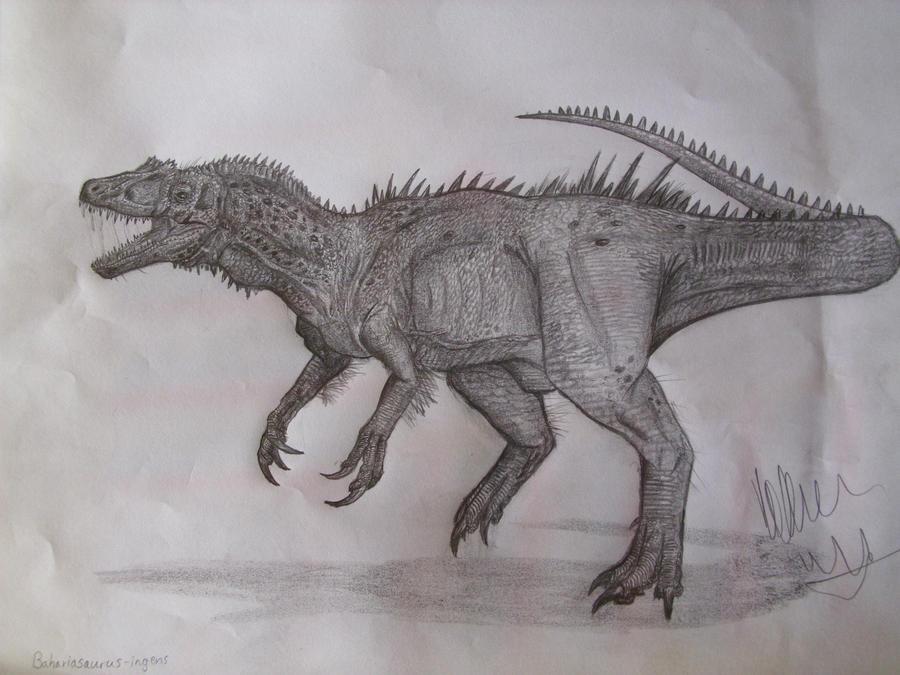 Bahariasaurus ingens