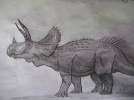 Ojoceratops by Teratophoneus