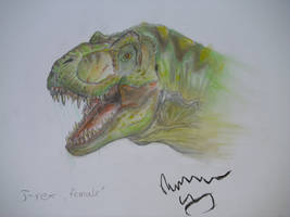 TLW male Tyrannosaurus by Teratophoneus