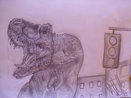 Primeval T rex by Teratophoneus