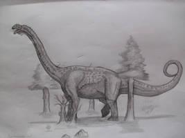 Puertasaurus reuili by Teratophoneus