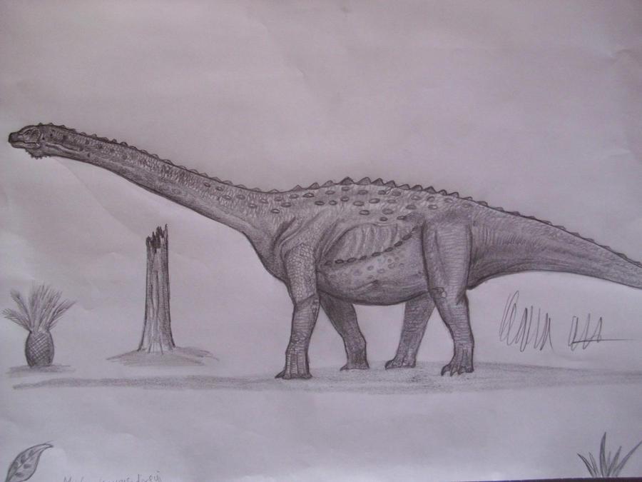 Malawisaurus dixeyi by Teratophoneus