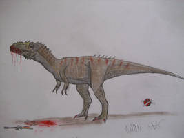 JP-Expanded   Alioramus by Teratophoneus
