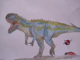 JP-Expanded   Giganotosaurus by Teratophoneus