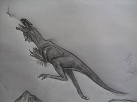 Megapnosaurus kayentakatae by Teratophoneus