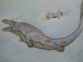 JP-Expanded Mosasaurus by Teratophoneus