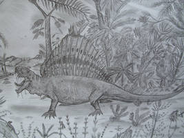 Dimetrodon limbatus by Teratophoneus