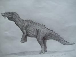 Naashoibitosaurus ostromi by Teratophoneus