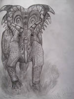 Medusaceratops lokii by Teratophoneus