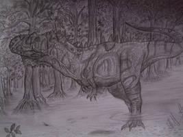 Rajasaurus narmadensis by Teratophoneus